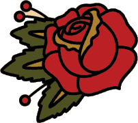 Rose Tattoo Png Hd PNG Image