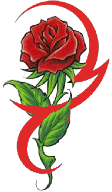 Rose Tattoo Download Png PNG Image