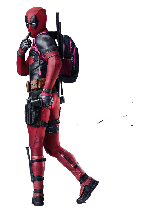 Deadpool Character Fictional Figurine 4K Resolution Film PNG Image