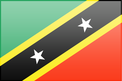 Saint Kitts And Nevis Flag Picture PNG Image