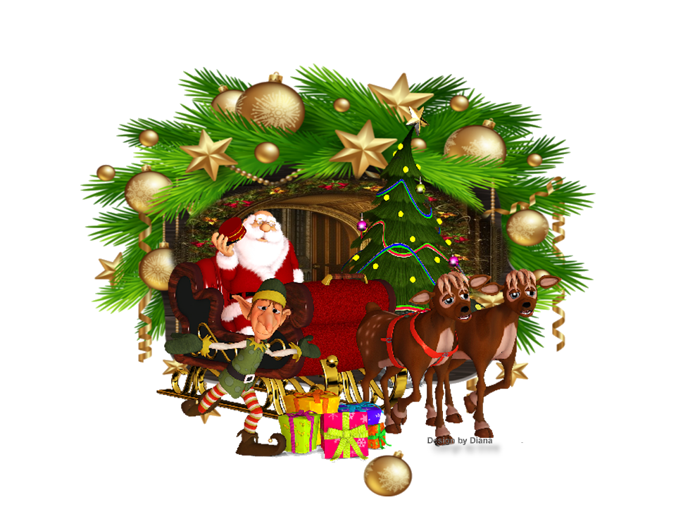 Claus Day Decoration Santa Year Christmas PNG Image