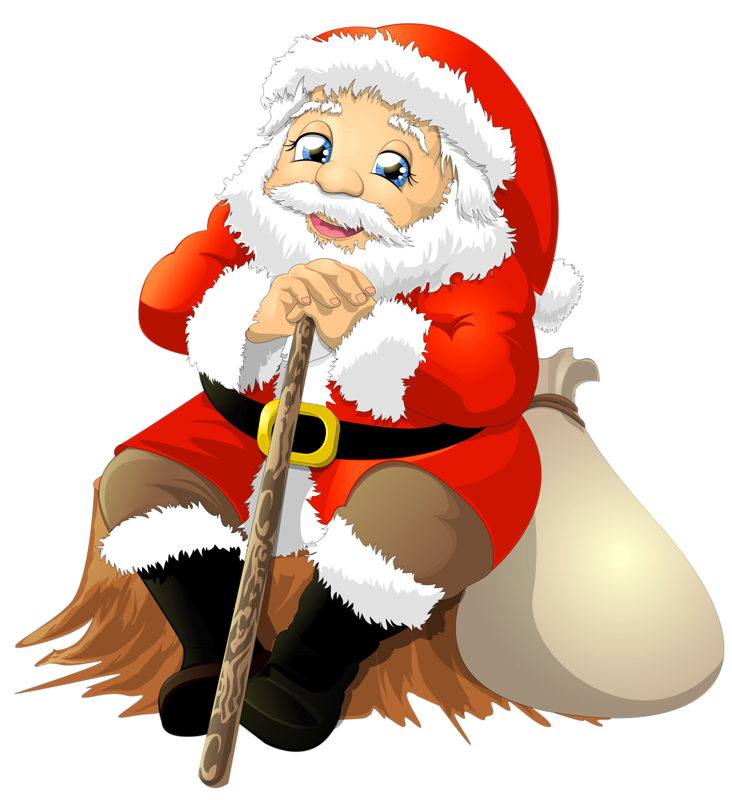 Sticker Imessage Bag Santa Whatsapp With PNG Image