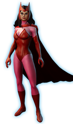 Scarlet Witch Png File PNG Image