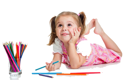 Kids Learning Transparent Background PNG Image