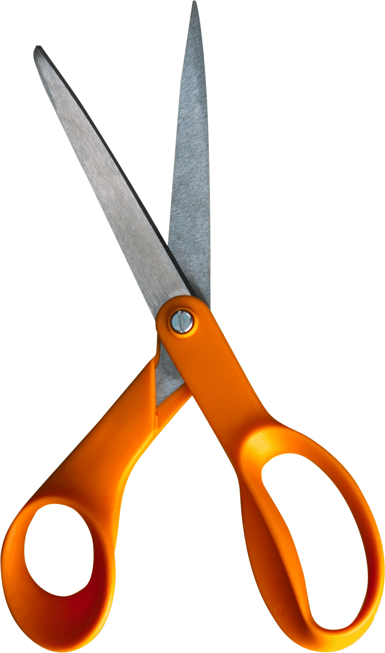 Orange Scissors Png Image Download PNG Image