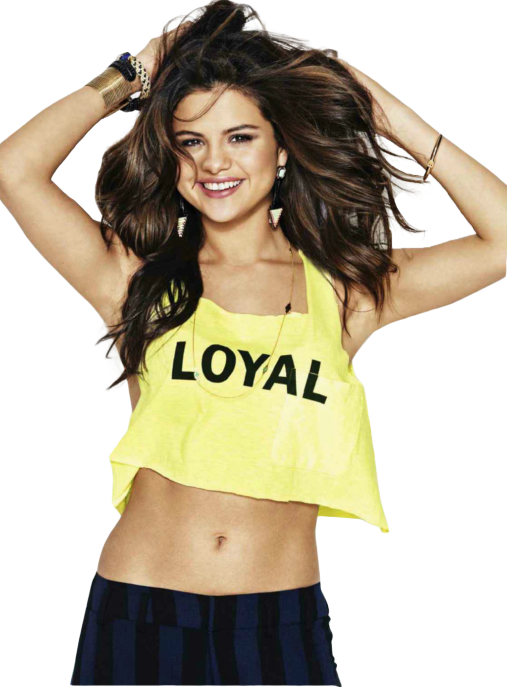 Selena Gomez Happy Png PNG Image