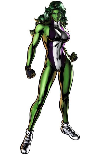 She Hulk Picture PNG Image
