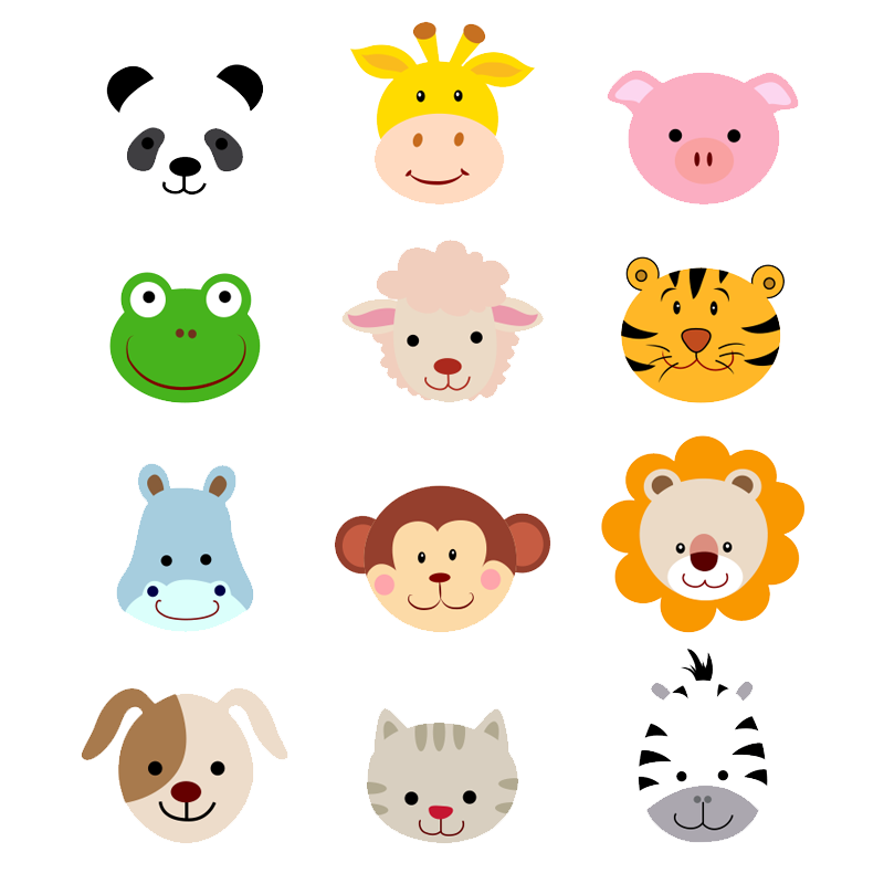 Sheep Animals Jungle Baby Cartoon Avatar PNG Image
