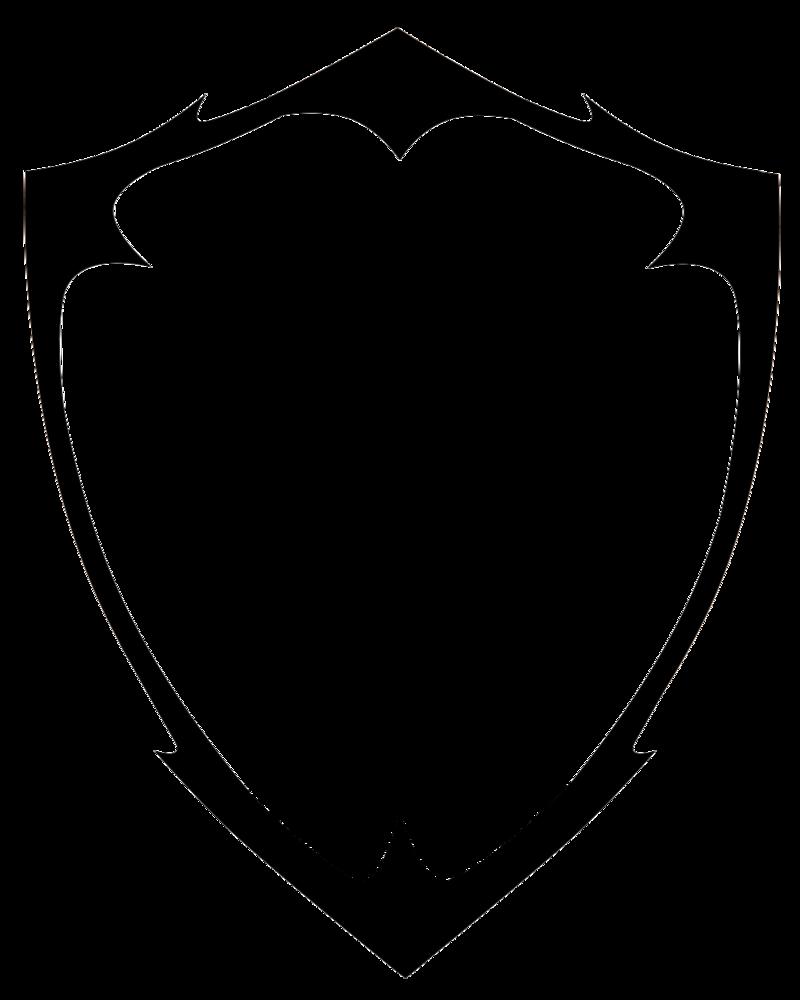 Download Blank Shield Logo Vector HQ PNG Image | FreePNGImg