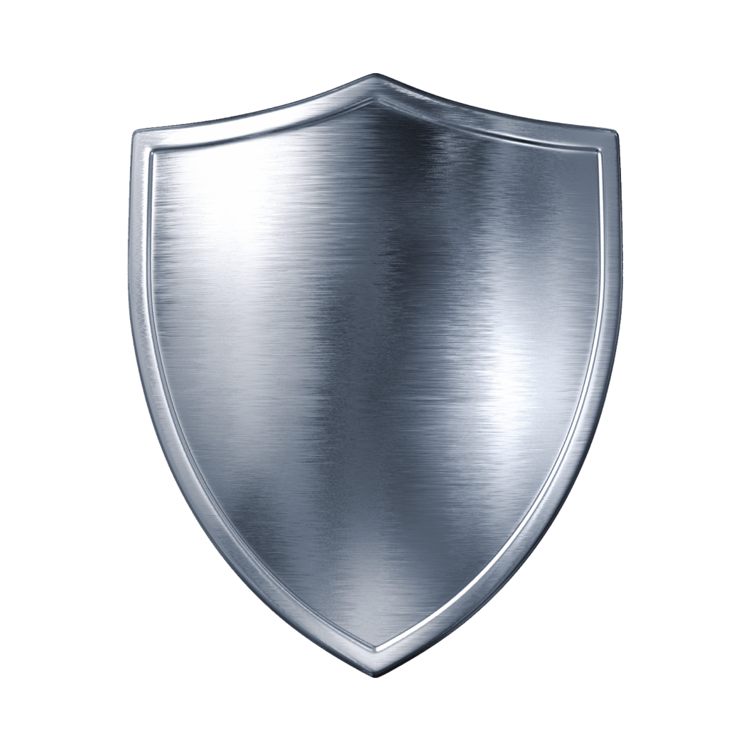 Silver Metal Shield Png Image PNG Image