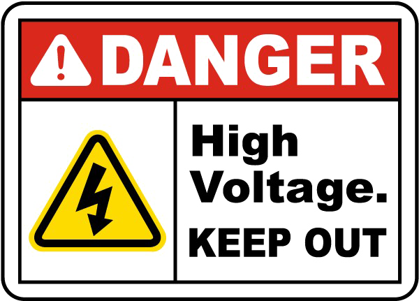 Danger Sign Download Free Clipart HQ PNG Image