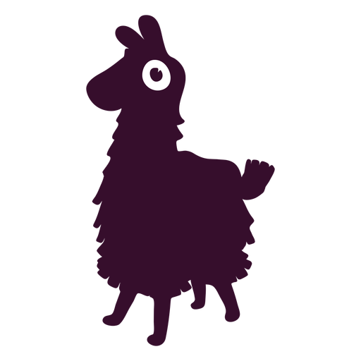 Battle Royale Silhouette Fortnite Llama Free HD Image PNG Image