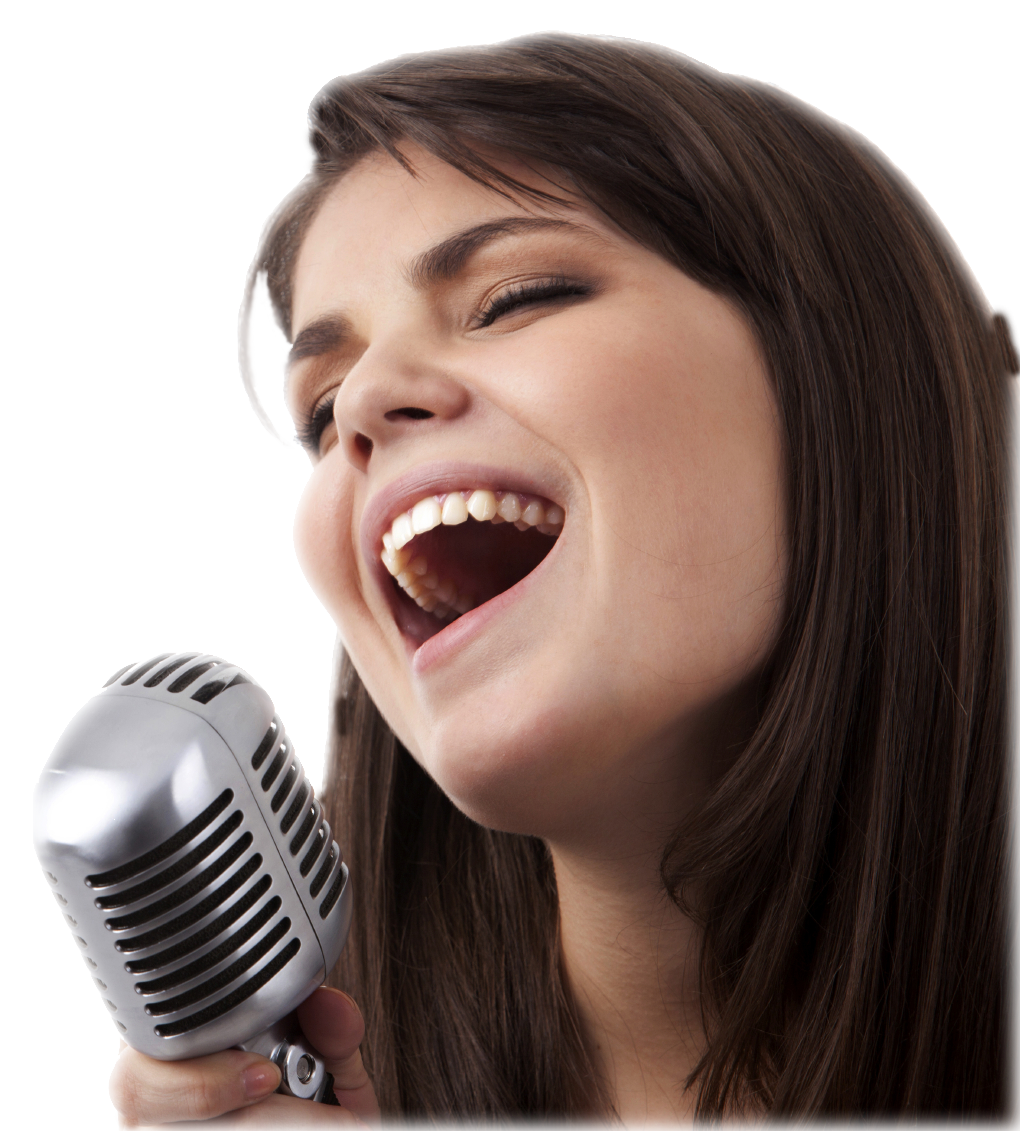 Singing Transparent Image PNG Image
