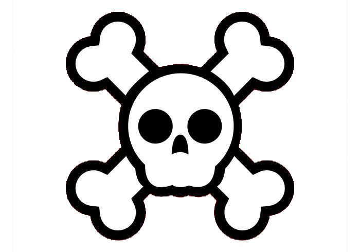 And Cartoon Skull Crossbones Free Transparent Image HD PNG Image