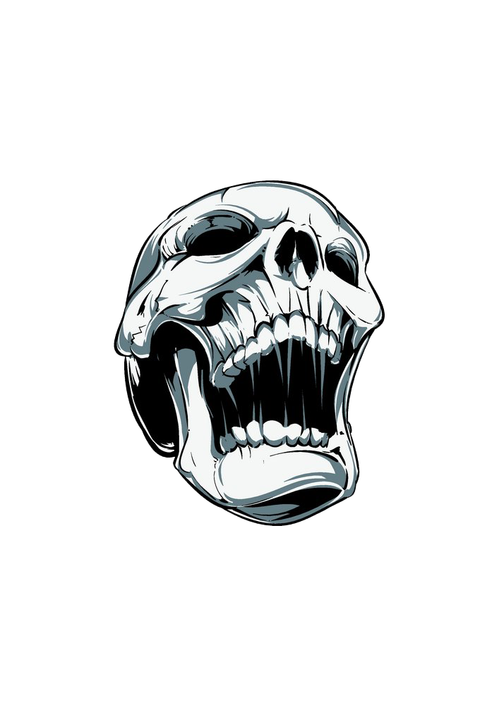 Screaming Skull Free Photo PNG PNG Image