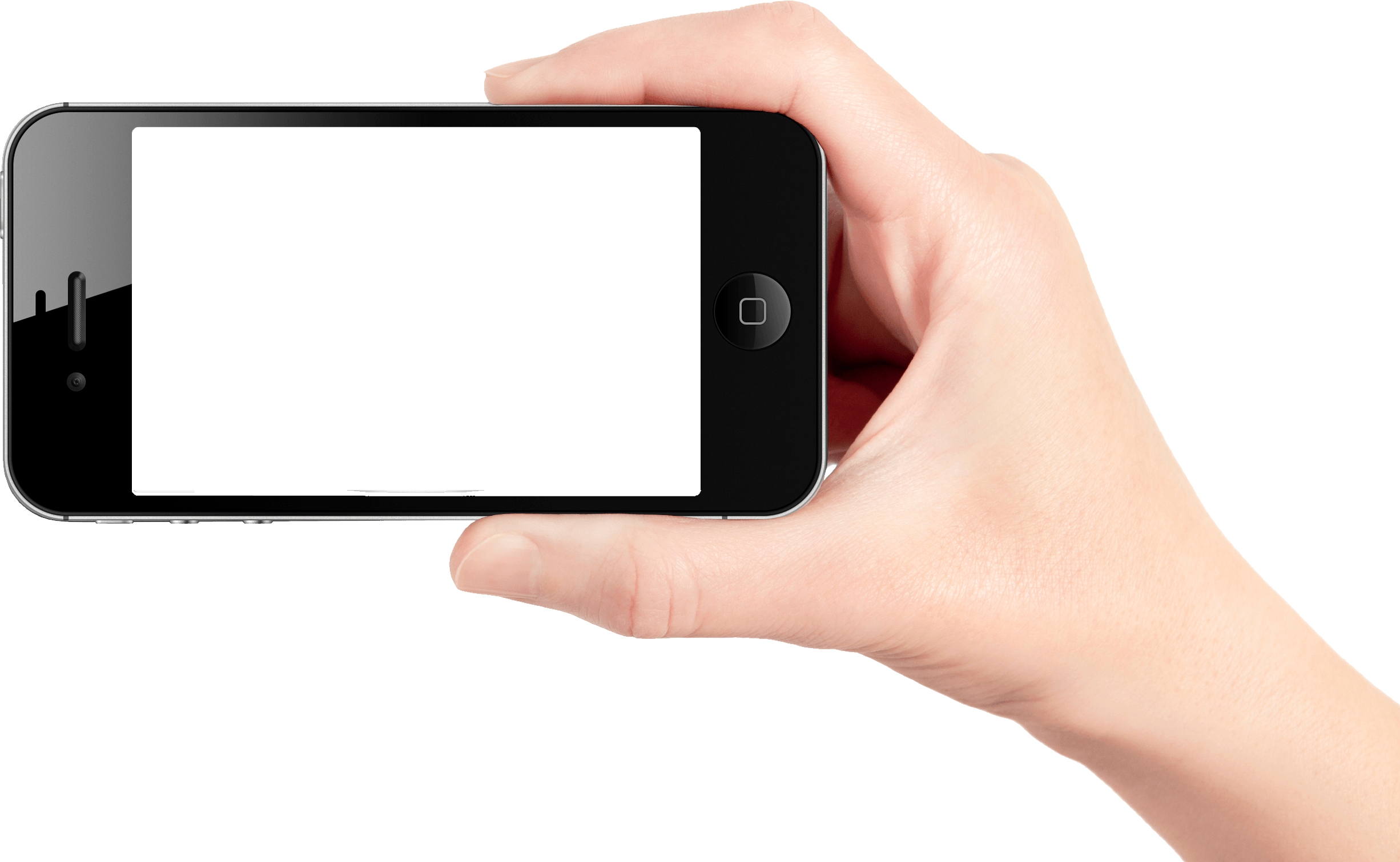 Smartphone In Hand Png Image PNG Image