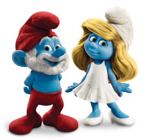 Smurfs Hd PNG Image