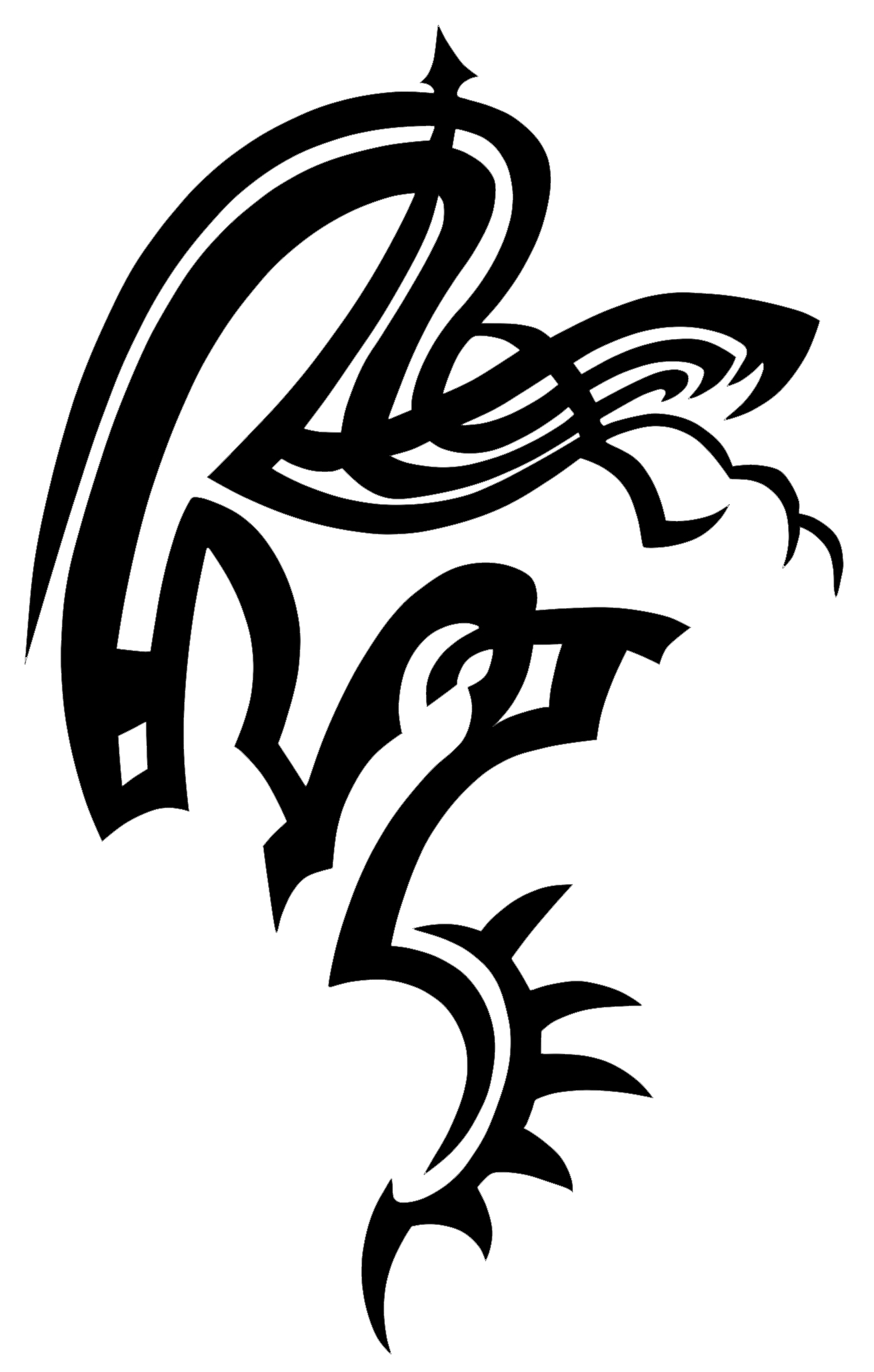 Snake Tattoo Transparent PNG Image