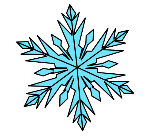 Download Frozen Snowflake Photos HQ PNG Image | FreePNGImg