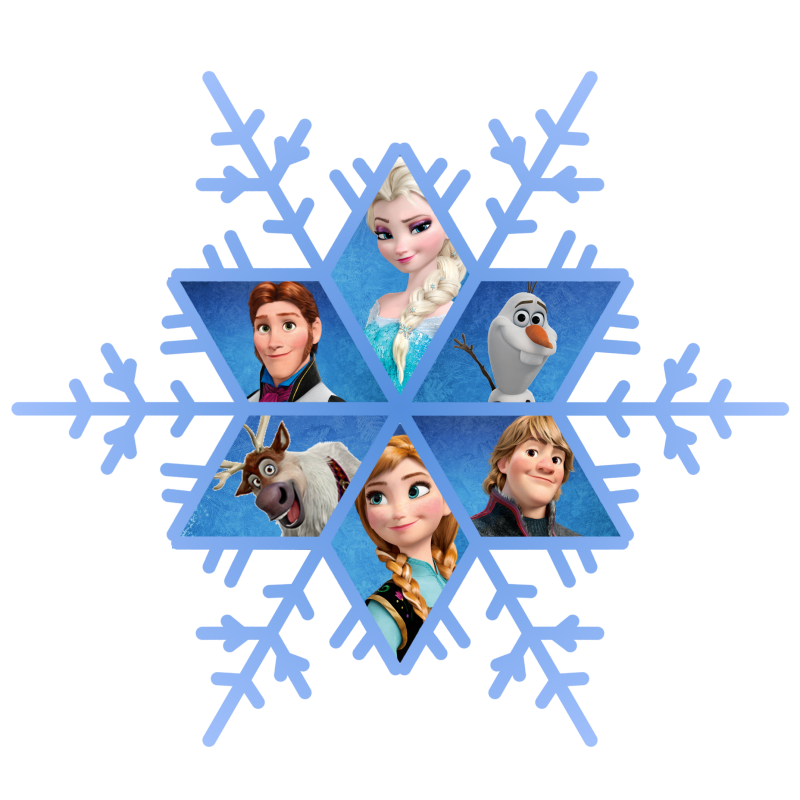 Frozen Snowflake Free Download PNG Image