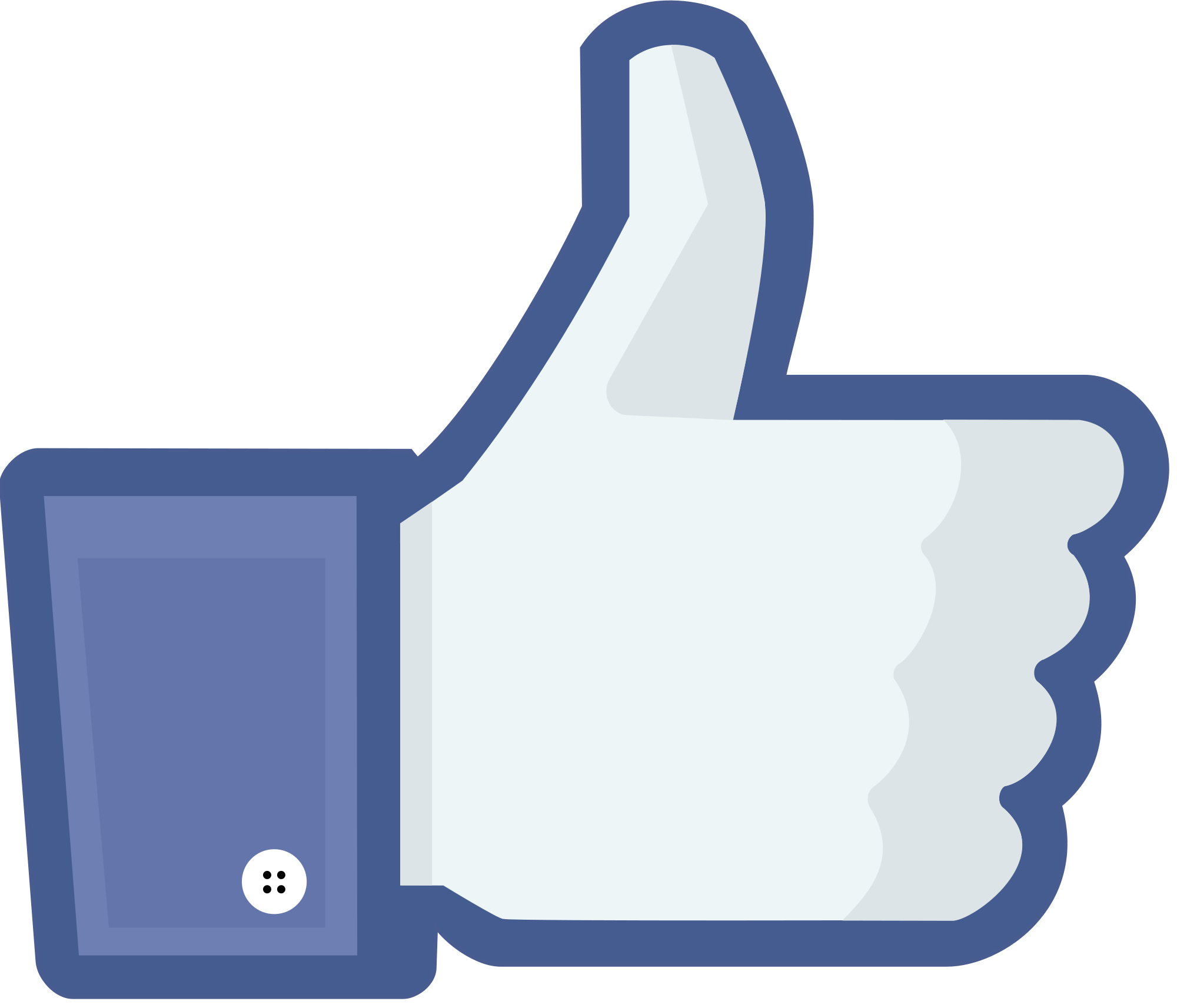 Like Media Button Brand Facebook Social Page PNG Image