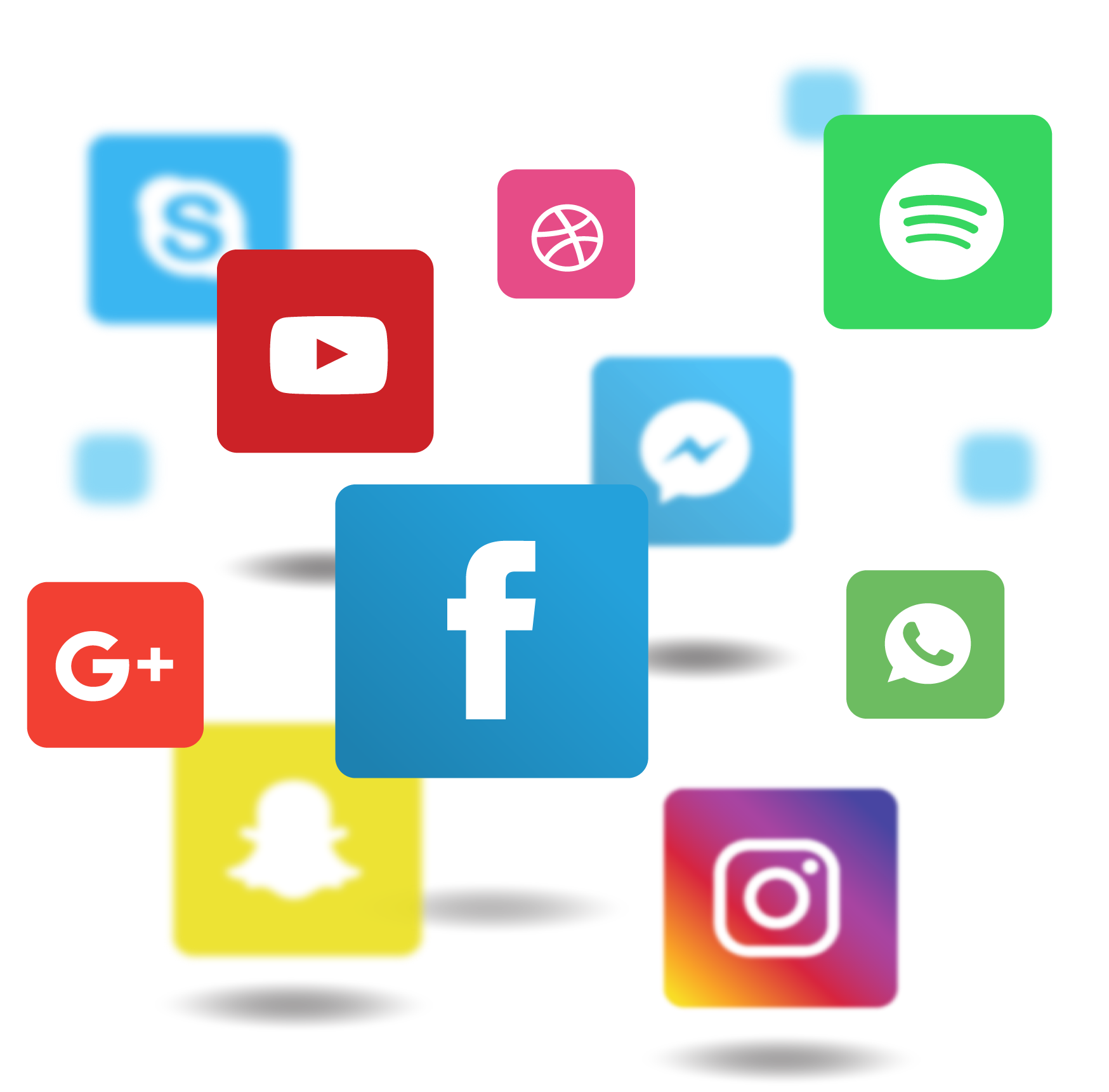 Applications Media Communicatiemiddel Application Social Icon Software PNG Image