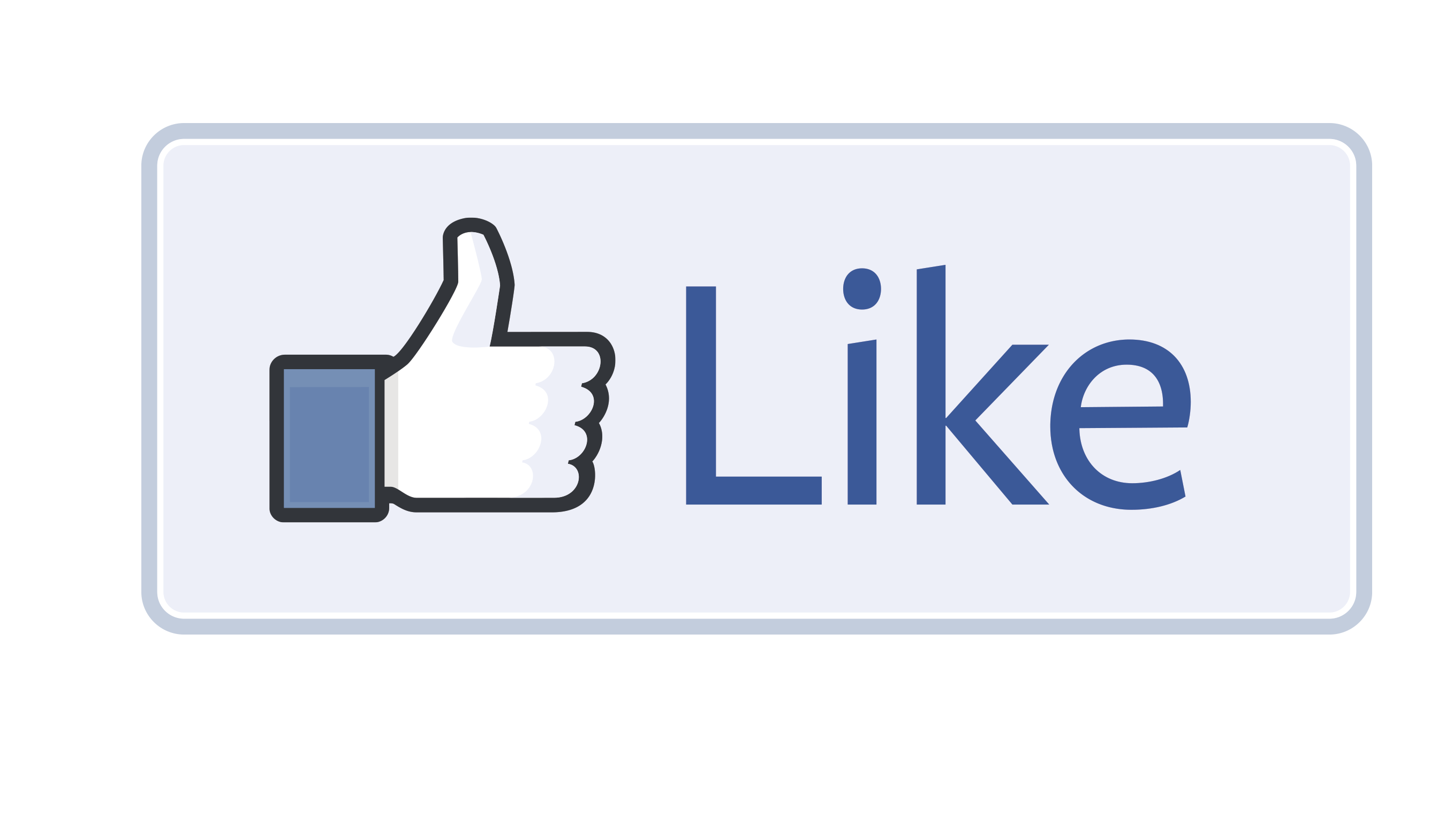 Media Button Facebook Like Social Free HD Image PNG Image