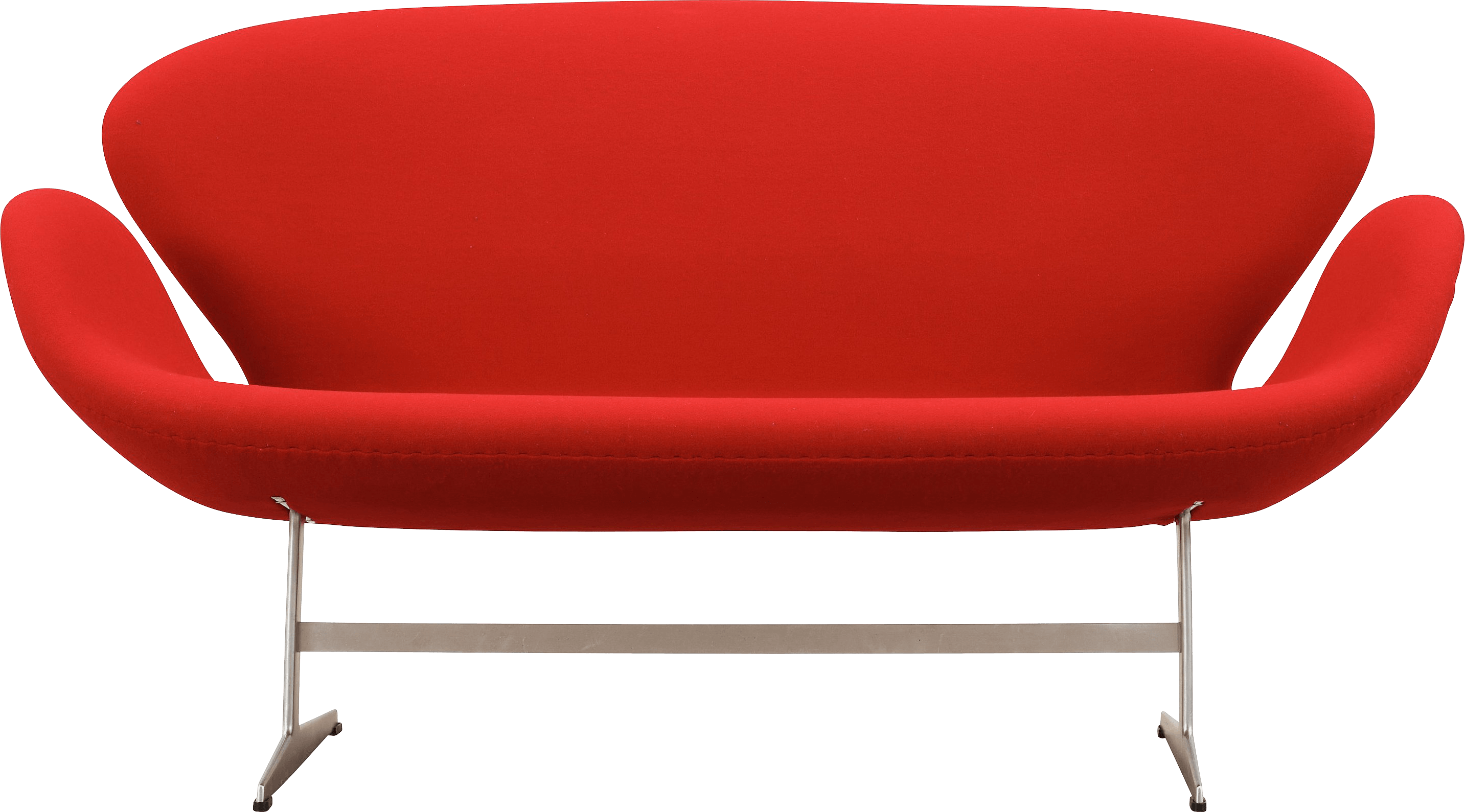 Red Sofa Png Image PNG Image