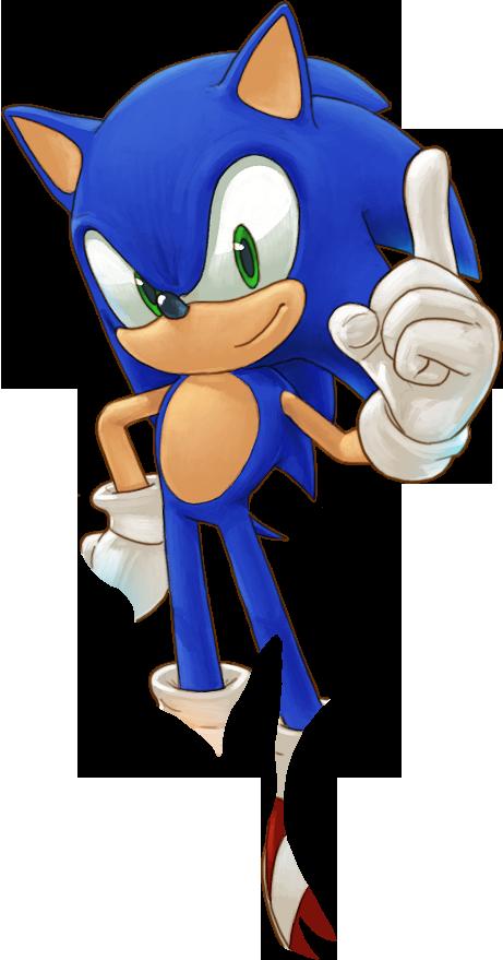 Download Sonic The Hedgehog Transparent Background Hq Png Image Freepngimg