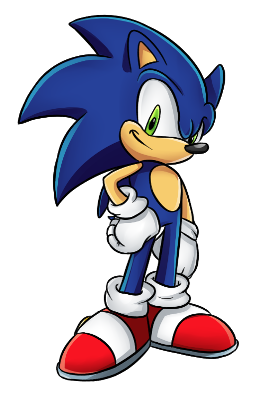 Sonic Art Vertebrate Forces Spinball The Hedgehog PNG Image