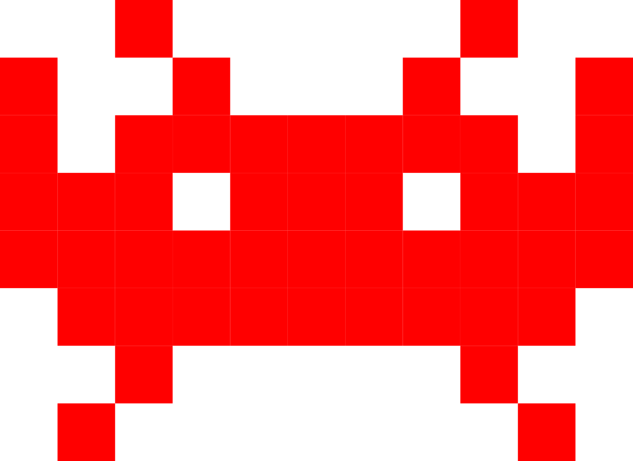 Space Invaders Free Download PNG Image