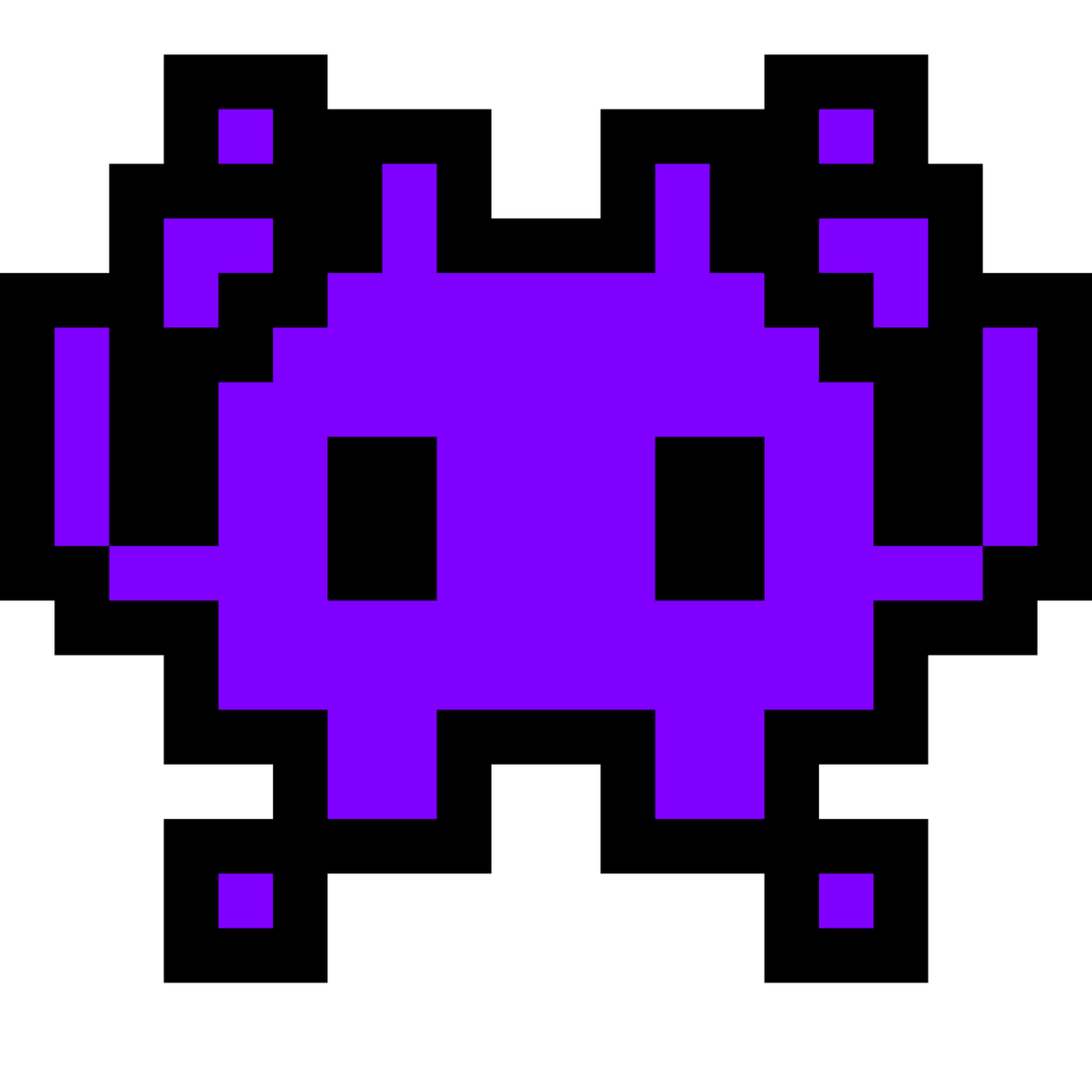 Space Invaders Transparent Background PNG Image