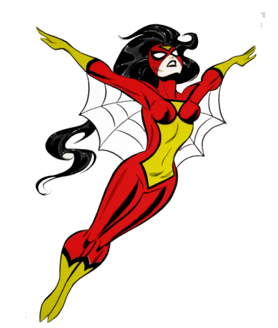 Spider Woman PNG Image