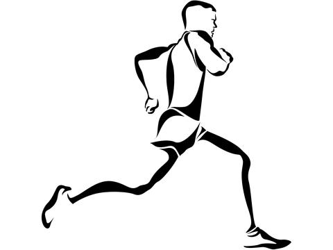Running Transparent Background PNG Image