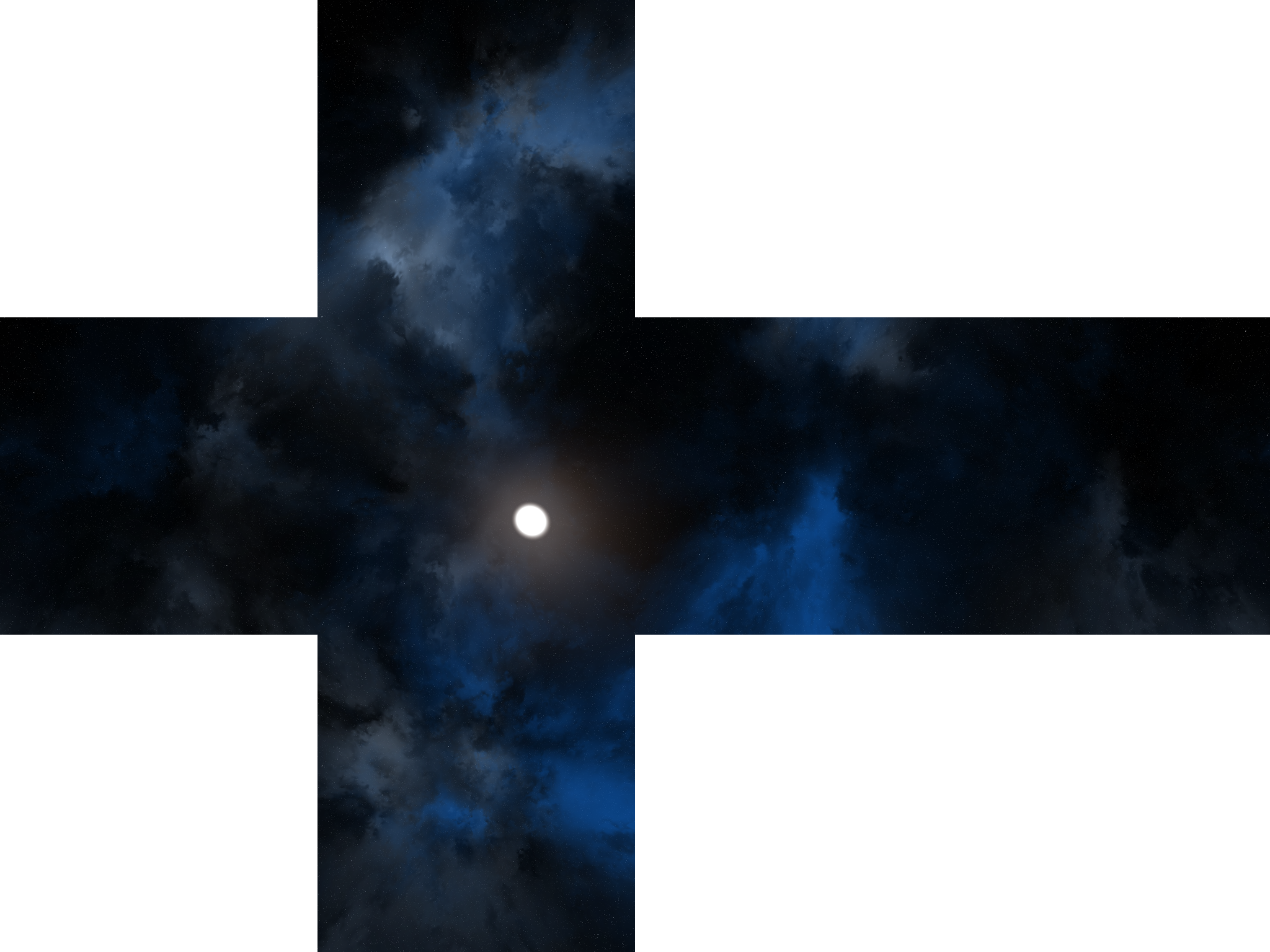 Skybox Blue Atmosphere Sky Space HD Image Free PNG PNG Image