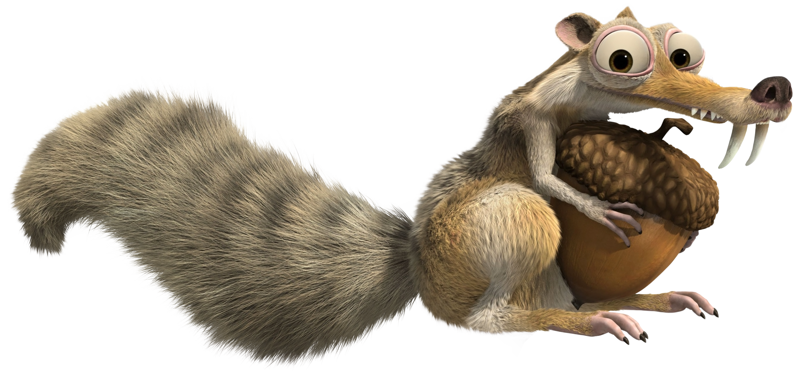Squirrel Age Scrat Scratte Ice Transparent PNG Image