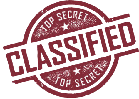 Classified Stamp Picture PNG Image
