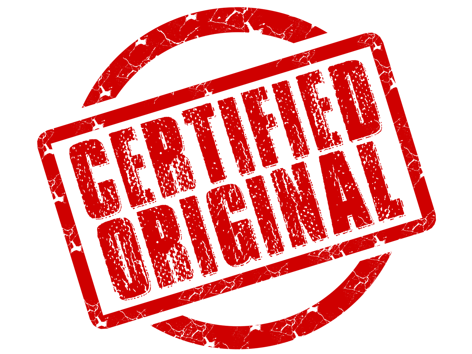 Certified Stamp Transparent PNG Image