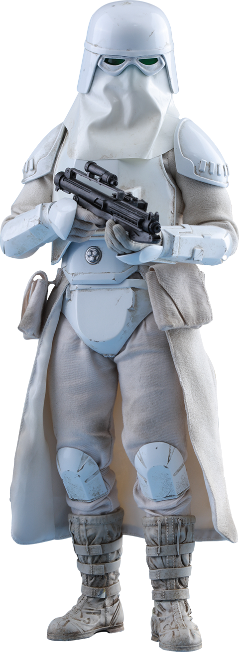 Toy Star Snowtrooper Clone Wars Figurine Stormtrooper PNG Image