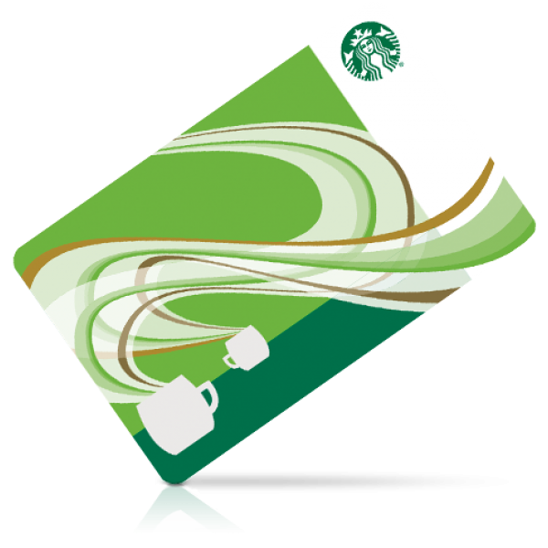 Coffee Gift Greeting Vouchers Note Starbucks Cards PNG Image
