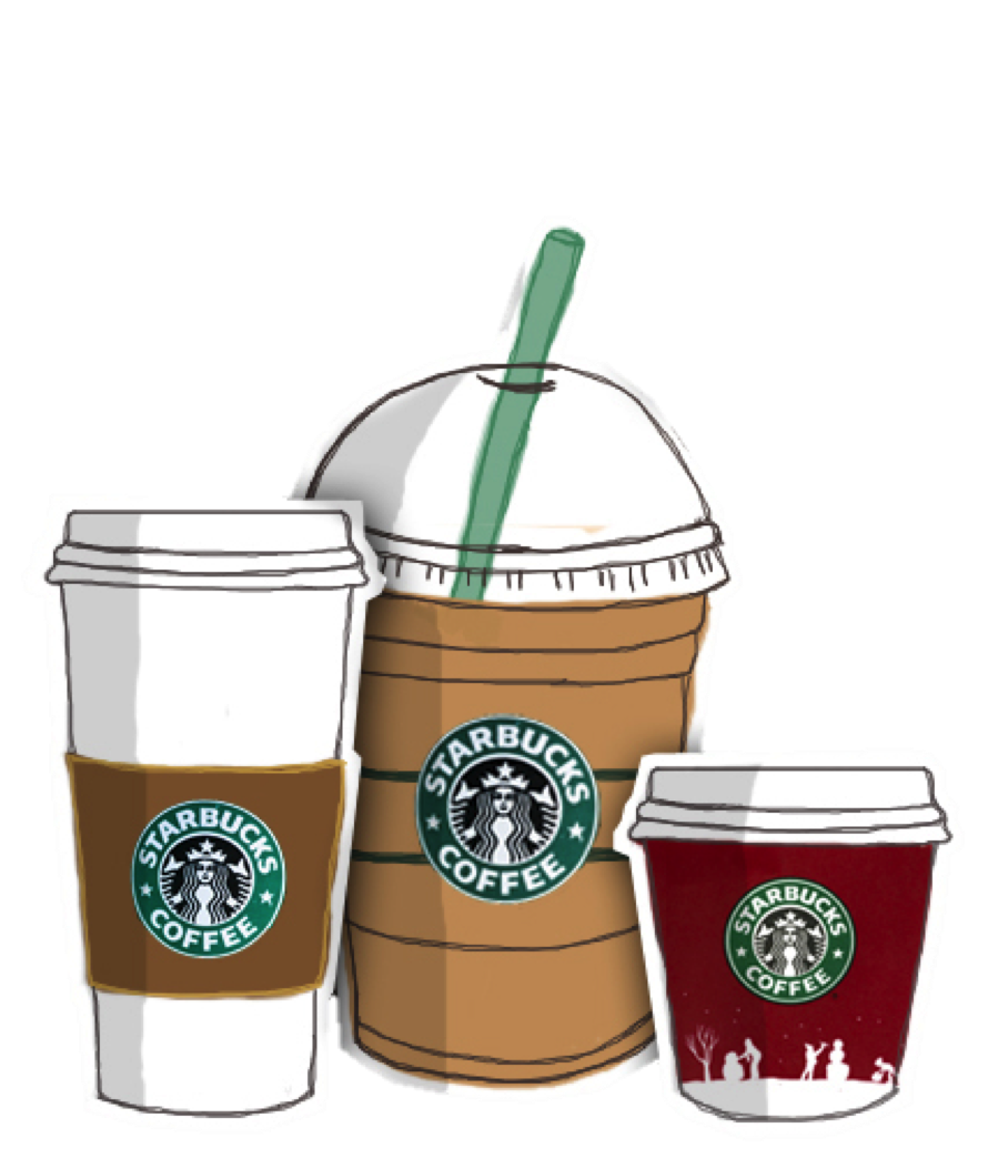 Coffee Frappuccino Starbucks Drawing Free HD Image PNG Image