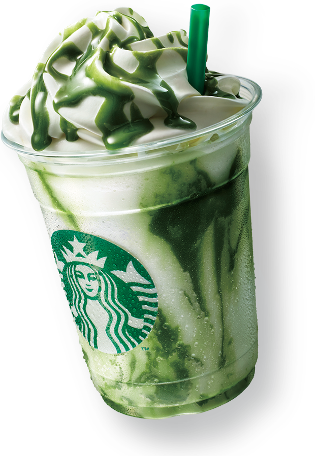 Frappuccino Drink Chocolate Starbucks Matcha White PNG Image
