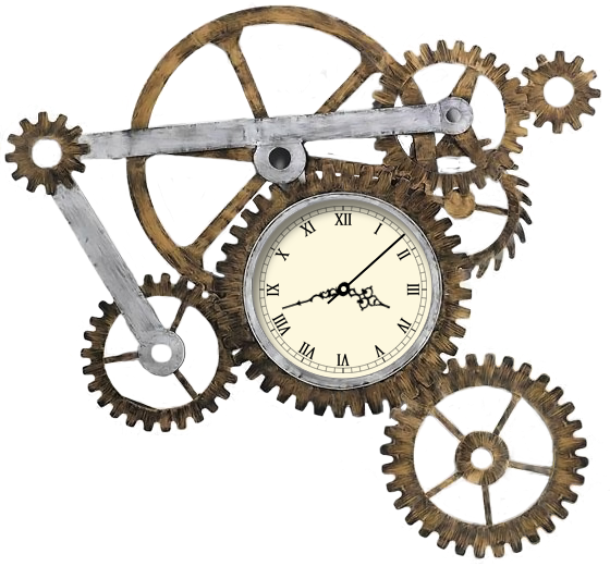 Steampunk Gear PNG Image
