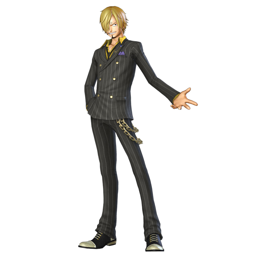 Standing Behavior Sanji Monkey Warriors One Vinsmoke PNG Image