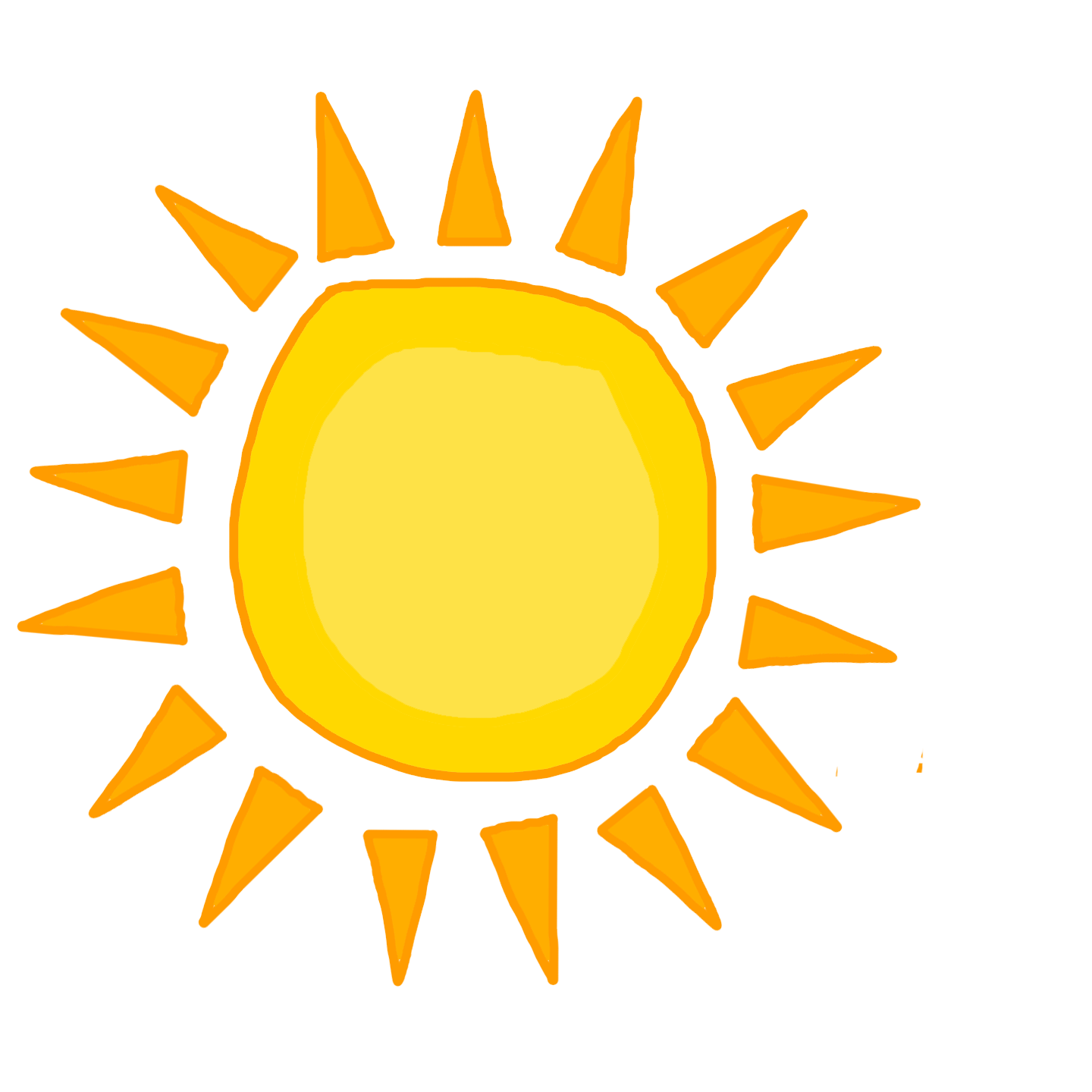 Sun Png Clipart PNG Image