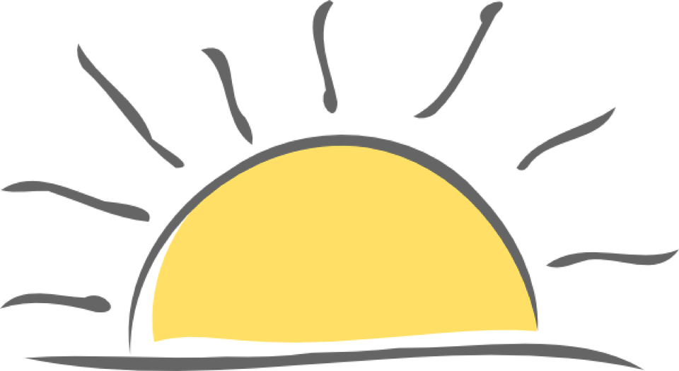 Sunrise Clipart PNG Image