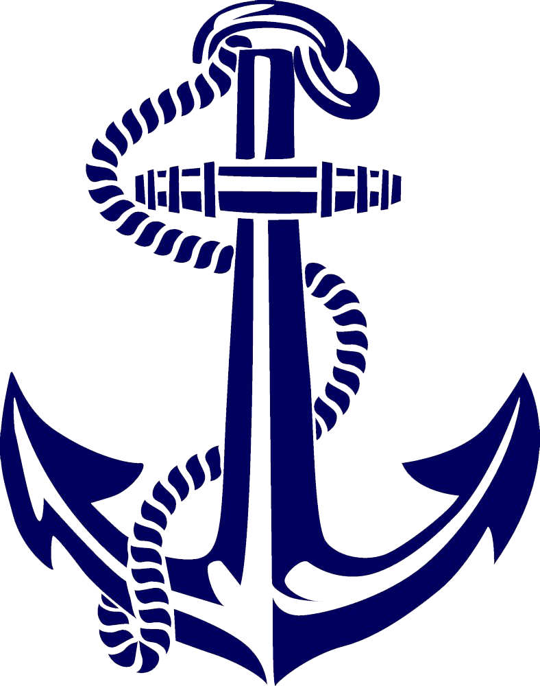 Painted Spear Anchor Boat Hand PNG File HD PNG Image