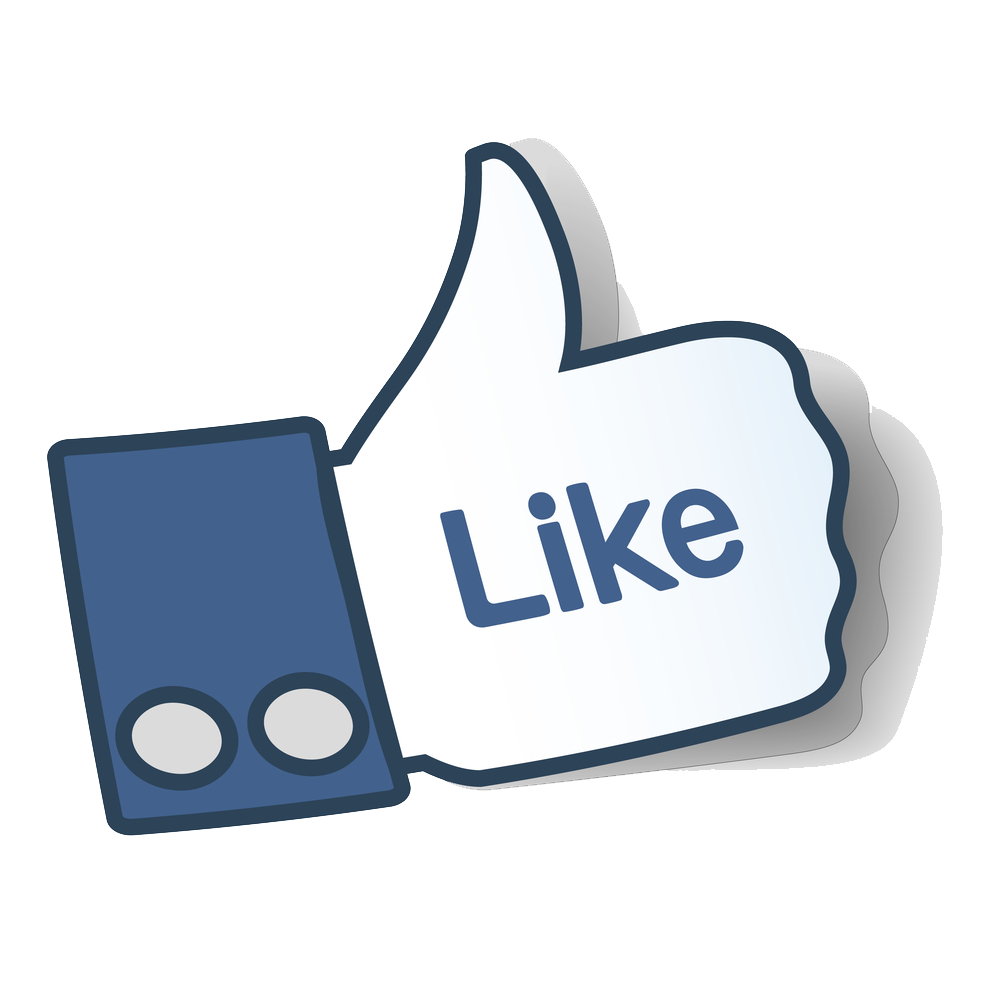Like Icons Symbol Facebook Button Signal Thumb PNG Image