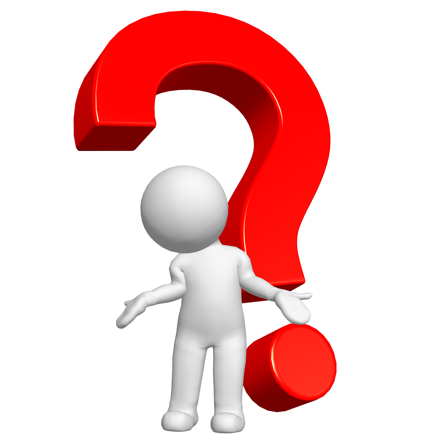 Text Symbol Question Mark Computer Graphics 3D PNG Image