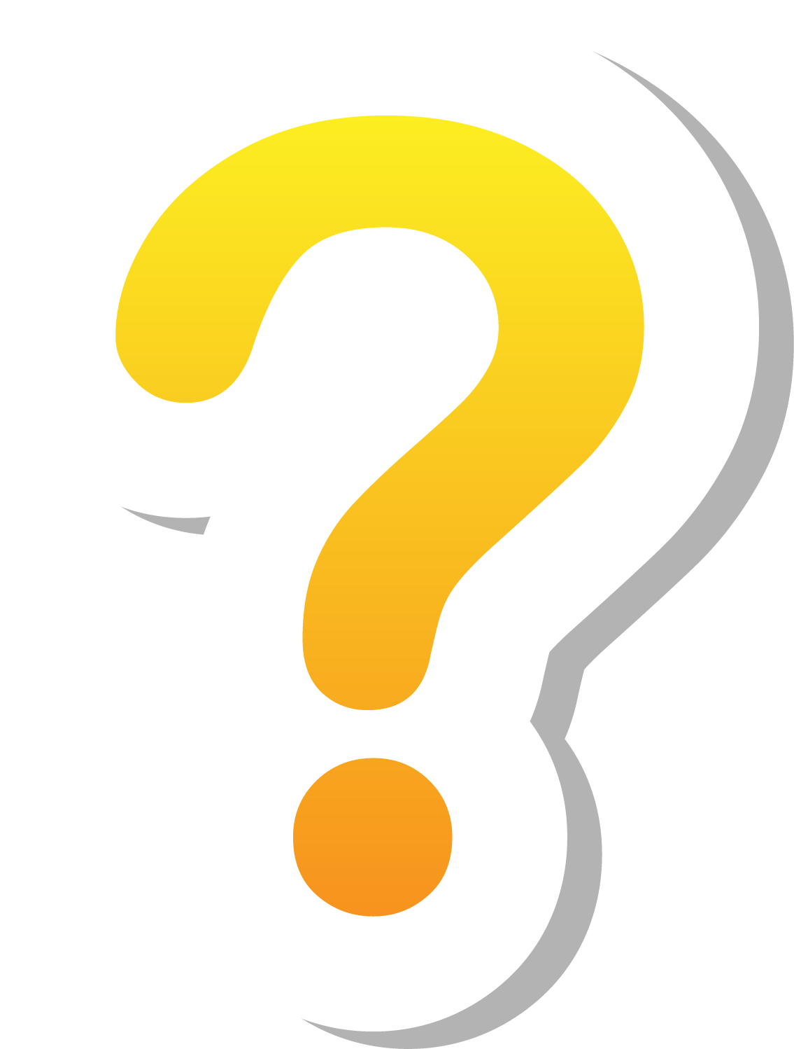 Text Symbol Question Encapsulated Yellow Mark Postscript PNG Image